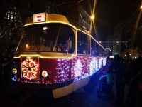 Brno bude brázdit vánoční tramvaj, přibude i svítící PFko