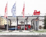 Nová samoobslužná čerpací stanice Benzina v Harrachově