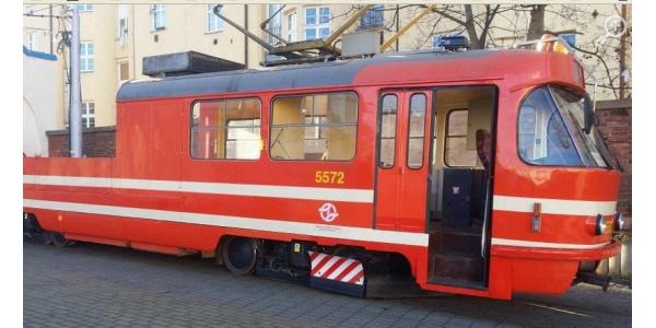 Nové mazací tramvaje v Praze