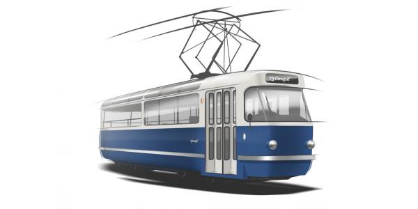 Párty tramvaj z legendární T3