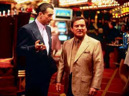 Ukazka prostředí amrického casina z filmu Casino