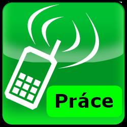 obrazek práce na mobil