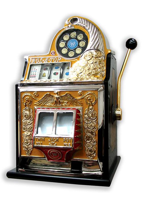 fotografie stolní výherní automat jednoruký bandita