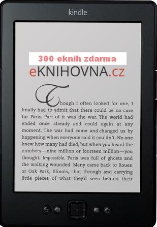 čtečka Kindle Amazon pro čtení eknihy zdarma