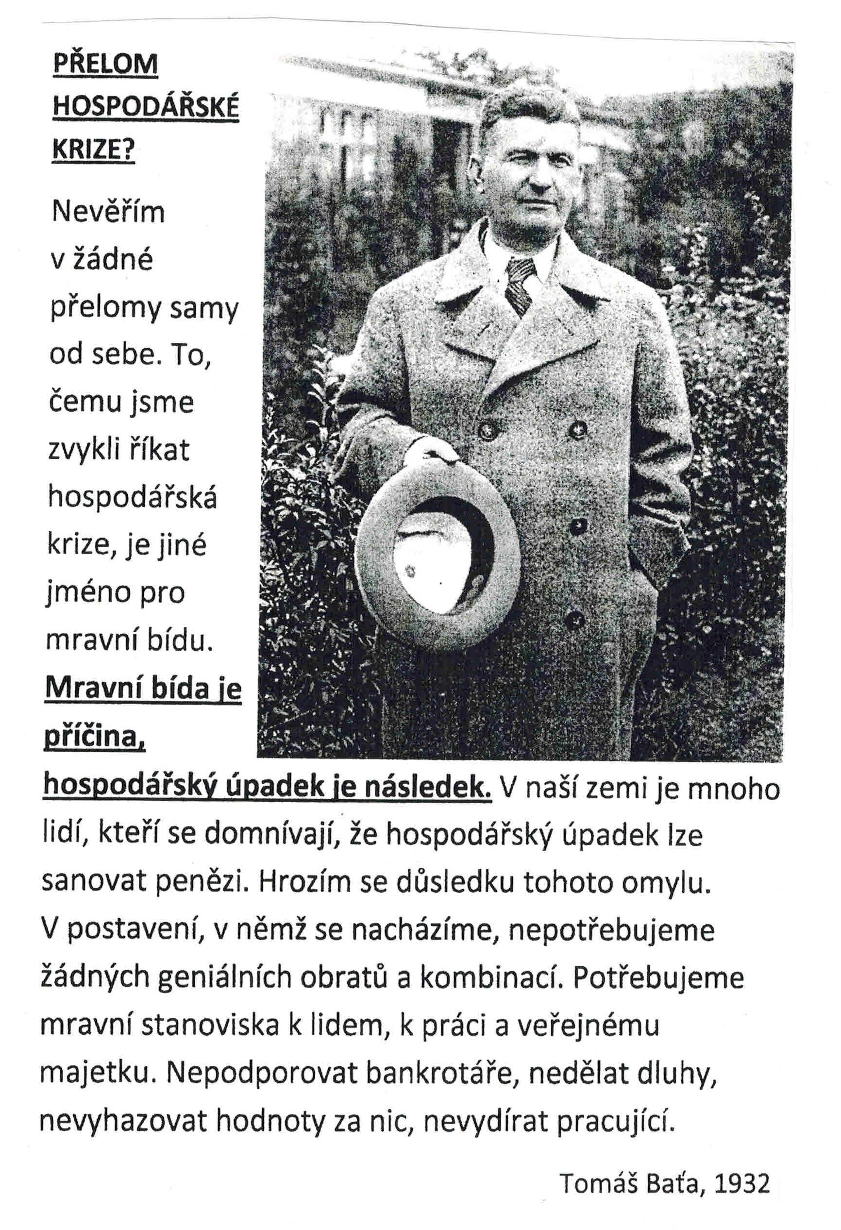 Obrazek Tomáš Bata 1932