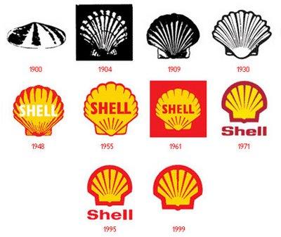obrazky loga shell historické