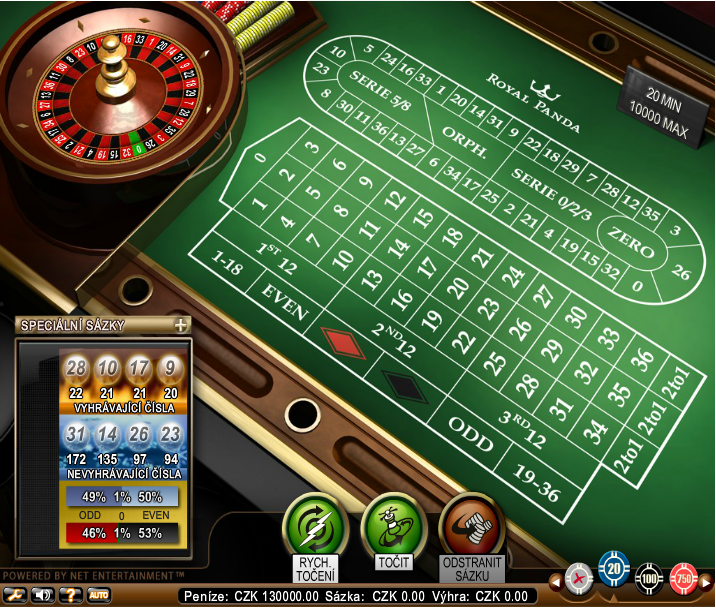 obrázek online ruleta zdarma