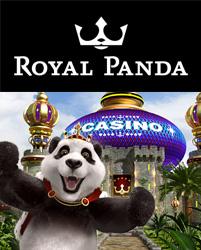 logo panda medvídek casino royal panda