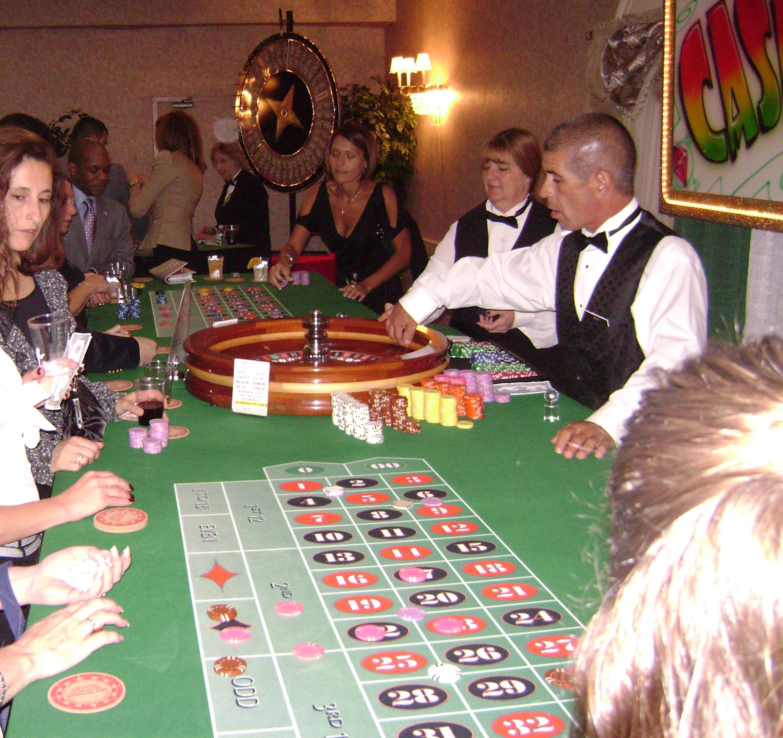 Lidé hrající ruletu