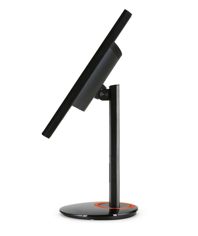 fotografie monitor Acer 4k2 NVIDIA® G-SYNC™ boční pohled