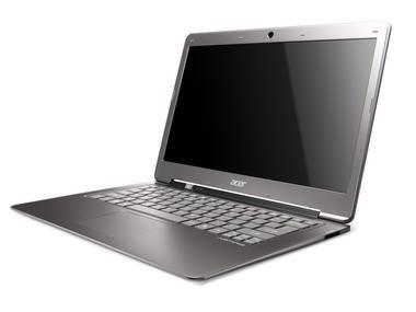 Acer Aspire S3 pohled ze předu