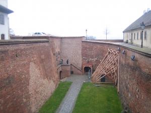 Hradby hrad Špilberg