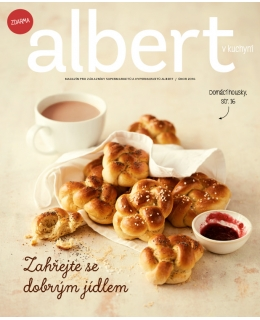 Magazín Albert v kuchyni únor 2016