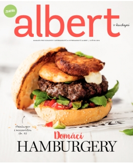 Magazín Albert v kuchyni květen 2016
