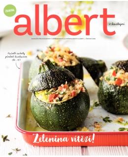 Magazín Albert v kuchyni červen 2016