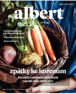 Magazín Albert v kuchyni leden - únor 2017