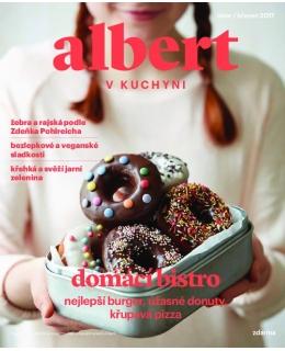 Magazín Albert v kuchyni únor - březen 2017
