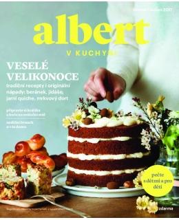 Magazín Albert v kuchyni březen - duben 2017