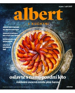Magazín Albert v kuchyni srpen - září 2017