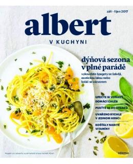 Magazín Albert v kuchyni září - říjen 2017