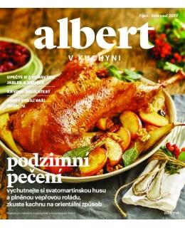 Magazín Albert v kuchyni říjen - listopad 2017
