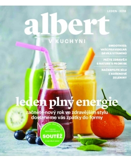Magazín Albert v kuchyni leden 2018