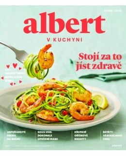 Magazín Albert v kuchyni únor 2018