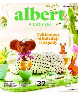 Magazín Albert v kuchyni březen 2018