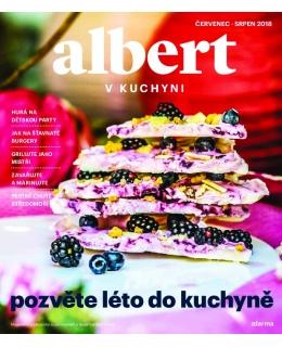 Magazín Albert v kuchyni červenec - srpen 2018