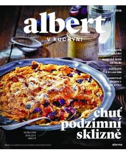Magazín Albert v kuchyni zaří 2018